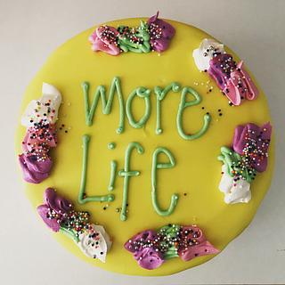 Drake Quote Cake