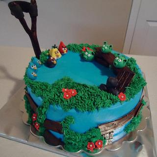 Angry Birds - Cake by Cakes4Fun