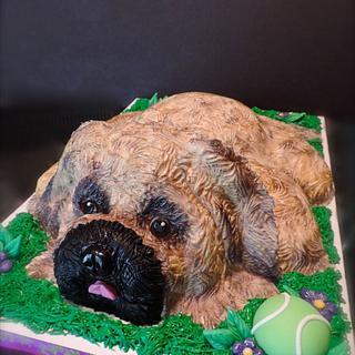 Dog Birthday Cake - Cake by Lisa