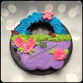 Pull Apart Easter Cake