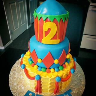 Circus Cake - Cake by The Cakery