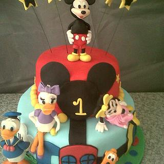Disney Clubhouse Cake