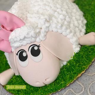 Sheep 🐑 cake