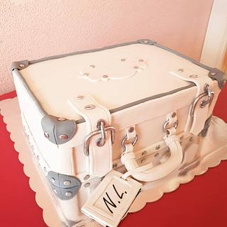 Sweet suitcases  - Cake by GingerCakeShop