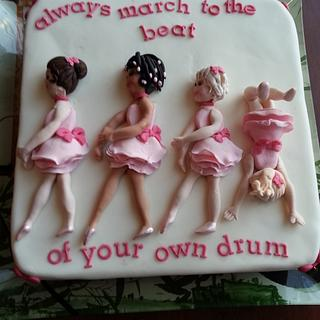 March to the beat of your own drum!