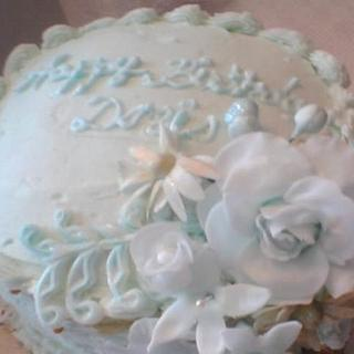 Mint Green Mini Cake