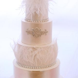 Feather Luxe - A 4 Tier Wedding Tale...