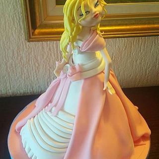 dolls - Cake by Arletta