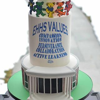 High School Celebration Cake