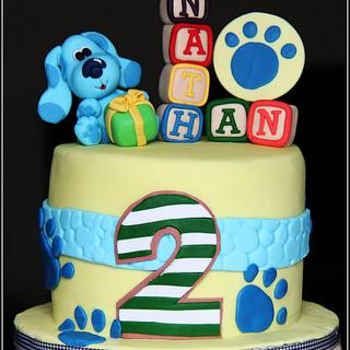 Blues Clues... - Cake by Dream Makers