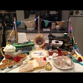 Vintage wedding cake - Cake by Steph