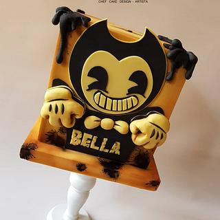Torta Bendy and the ink machine