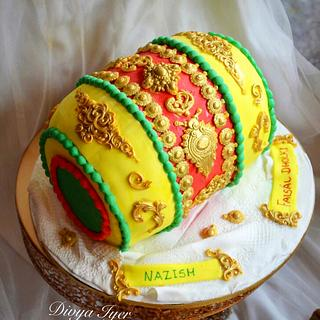 Dholki cake  - Cake by Divya iyer