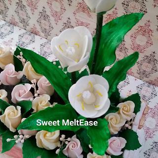 Flower Box Cake - Cake by Mel Sibuyo Durant