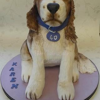 Dog Cake - Cake by The Cake Lady (Tracy)