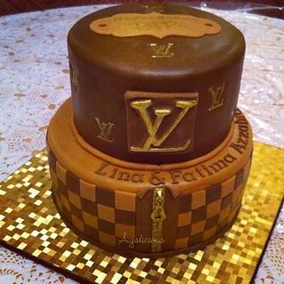 Louis Vuitton Cake - Cake by Laura Jabri