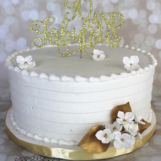 90th birthday celebrating
