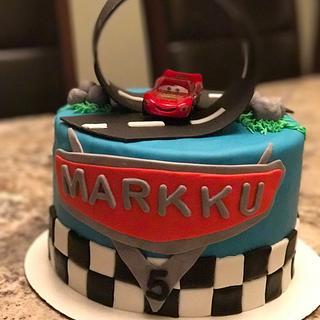 Cars Birthday Cake - Cake by Daria