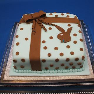 The Playboy Birthday cake - Cake by Zucker-Kunst, Esi Jaeger