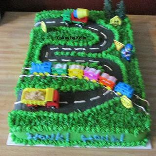 Vroom!  Vroom!  - Cake by Kelly Neff,  Cakes by Kelly