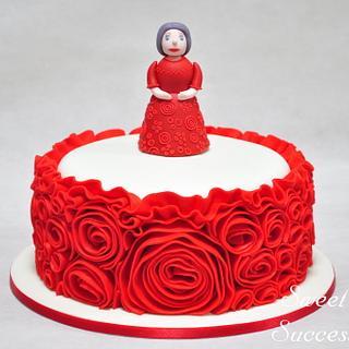 Rose Cake - Cake by Sweet Success
