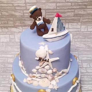 Sailor cake - Cake by Rositsa Lipovanska