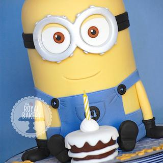 Minion Dave 2 - Cake by Lesley Wright