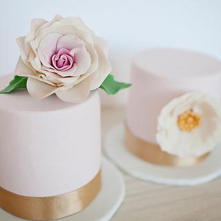 Mini wedding cakes - Cake by Be Sweet