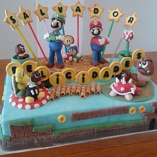 CAKE MARIO BROSS