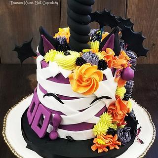 Mini BOOnicorn Mummy Cake