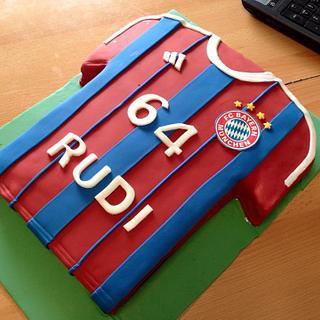 FC Bayern München Jersey Cake