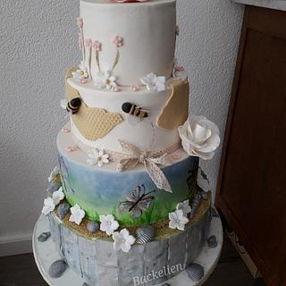 Nature birthdaycake - Cake by Backelien