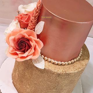Engagement cake 👰💍🤵 - Cake by Jojosweet