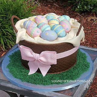 Easter Basket Cake - Cake by Sharon Zambito