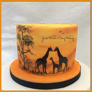 Out of Africa cake