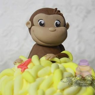 Curious George - Cake by Sonia Huebert