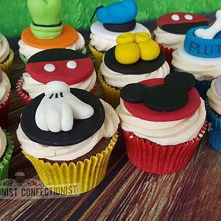 Sophia - Mickey Mouse Clubhouse Cupcakes