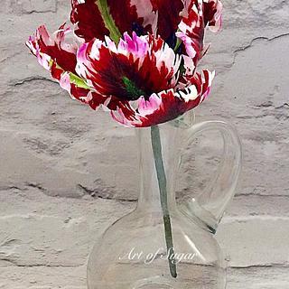 'Tulip Fun' - Cake by Margaret Ellis - Art of Sugar