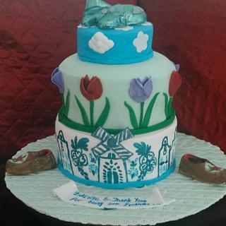 Holland Themed Farewell cake