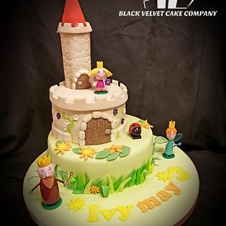 Ben&Holly cake - Cake by Blackvelvetlee