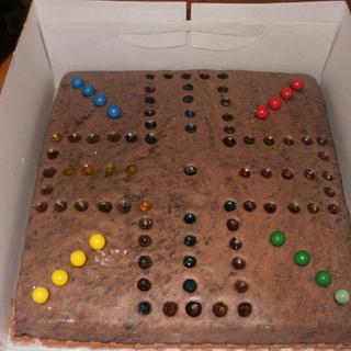 Wahoo, board game - Cake by bekka