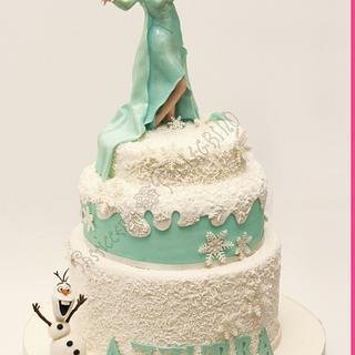 Frozen Cake  - Cake by  Viviana Pellegrino
