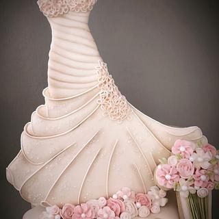 Couture Cakers International -- Wedding Dress