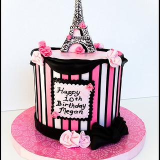 Paris Birthday - Cake by Bliss Pastry
