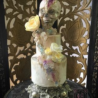 Mr. Rockskull for SSB17 Collaboration - Cake by Joanne Wieneke