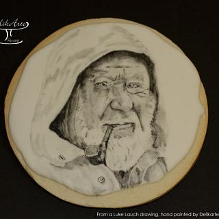 """""""Old Sailor"""" from a Luke Lauch drawing"""