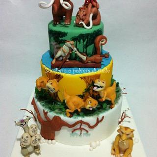 The Ice Age Cake! - Cake by Zucchero e polvere di stelle