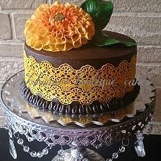 Yellow Beauty - Cake by Ashwini Tupe