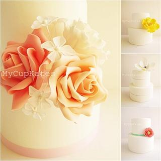 Wedding cakes in different styles - Cake by Kate Kim