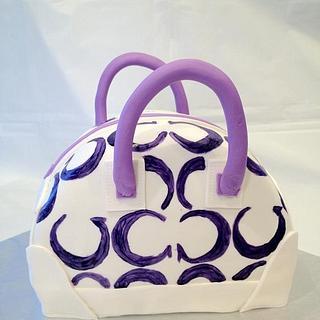 Coach Handbag - Cake by Dawn Henderson